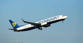 Flugzeug von Ryanair, Ryanair, Airplane, Airline Ryanair