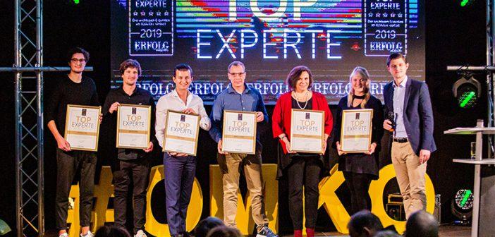 ERFOLG Magazin zeichnet Top-Experten beim OMKO aus