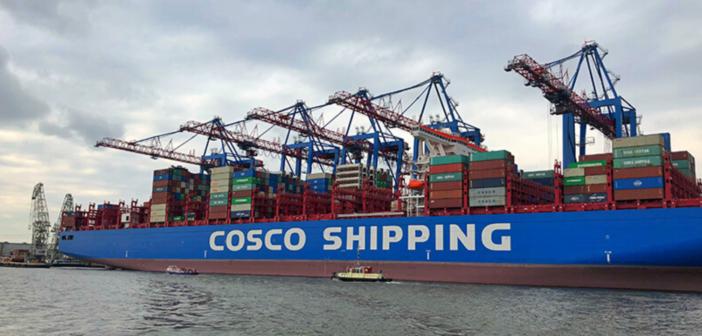 Chinesische Reederei baut griechischen Hafen aus
